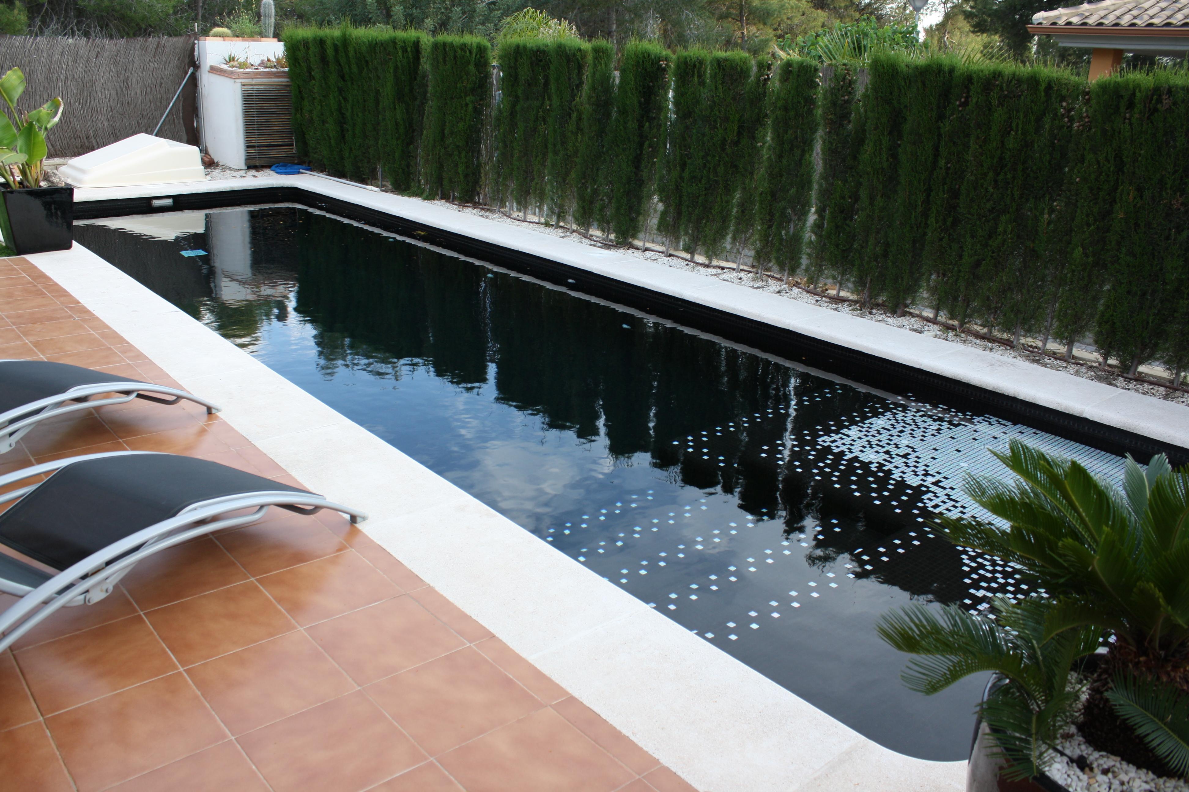 Proceso construcción piscina