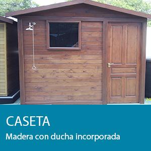 Construcci n reformas exterior de la casa pisicilimp - Caseta madera exterior ...