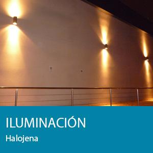 iluminacion halojena