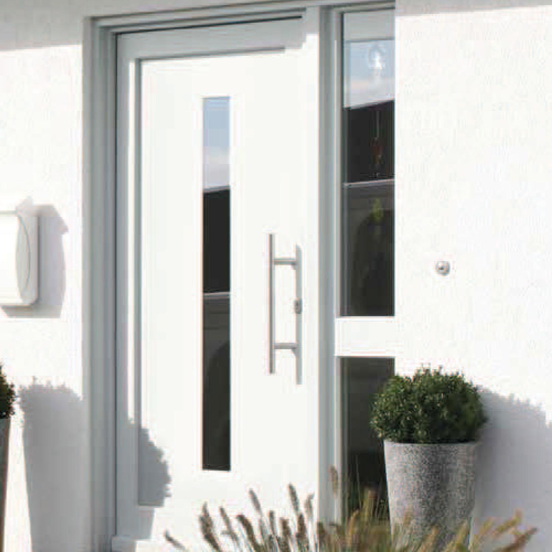 Puertas entrada casa casa ml puertas y ventanas modernas for Doble puerta entrada casa